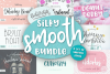 Silky Smooth Font Bundle example image 1
