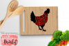 Chicken Butcher SVG DXF EPS PNG example image 1