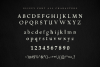 Glippy Industrial Font example image 6