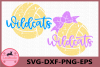 Wildcats Svg, Volleyball Grunge SVG, Volleyball files Svg example image 1