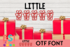 Little Gifts Christmas Font example image 1