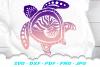 Sea Turtle Summer SVG DXF Cut Files Bundle example image 2