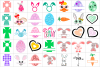 Easter Bundle SVG / DXF / EPS / PNG files example image 3