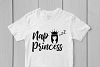 Nap Princess - Daughter SVG EPS DXF PNG Cutting Files example image 2