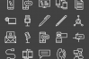 50 IT & Communication Line Inverted Icons example image 2
