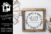 Farmhouse Style Wifi Network SVG Sign example image 1