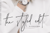 The Styled Edit- Chic Ligature Font example image 1