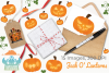 Jack O' Lanterns Clipart, Instant Download Vector Art example image 4