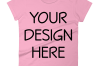 Anvil 880 Ladies Fit T-Shirt Mockups - 17 | PNG|3000x3000px example image 4
