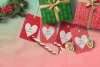 Printable Warm Wishes Red Tags Knitting Branding Tags example image 2