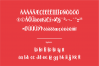 Little Santa Font | merry christmas font | 8 christmas cards example image 7