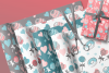 Cupcakes and Donuts Seamless Scrapbooking Papers 10 PNG file example image 1
