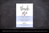 Wedding Thank You Note, Printable Thank You Card Template example image 4