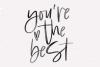 Washington - A Handwritten SVG Script Font example image 2