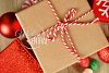 Gift Tag Present Christmas Mockup, Circle Round Tag Mock Up example image 2