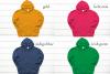 Hoodie Mockup Bundle Gildan 18500 Basic hoodie mockups example image 4