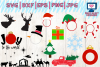 christmas bundle svg, dxf, png, jpg, eps example image 4