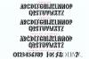 Holiday Season - a festive shadow font example image 3