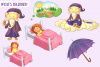 Sandman Fairy Tale Clip Art Collection example image 3