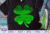 St. Patrick's Day SVG   Four Leaf Clover SVG   Ombre SVG example image 1