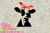 Dairy Cow Heifer with Bandana example image 1