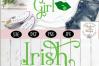Irish Girl SVG, Saint Patrick's Day SVG example image 3