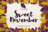 Sweet November example image 1