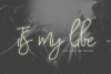 With My Love Script Font example image 4