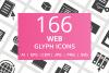 166 Web Glyph Icons example image 1