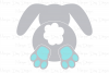 Bunny Butt - Easter SVG, DXF, AI, EPS, PNG, JPEG example image 3