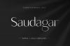 Saudagar Display Font & 7 Bonus Logo example image 1
