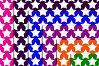 Color Stars, Digital Scrapbook Paper, Stars Patterned,SALE example image 5