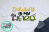 Daddy is my hero svg,military dad svg,military svgs example image 1