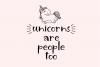 Unicorn Island Font and Dingbats example image 6