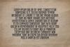 Imprimo Letterpress Font example image 2