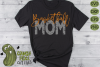 Basketball Mom & Bonus Team Mom Sports SVG Cut File example image 1