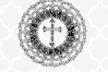 Cross Mandala SVG - Easter Cut files example image 3