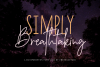Simply Breathtaking Font Duo example image 1