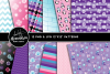 Pinky Penguin Clipart Graphics & Digital Paper Patterns Bundle example image 2