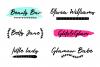 Glitter City Font Trio  Logos example image 8
