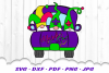 Mardi Gras Truck Gnomes Gnome Sublimation PNG example image 2