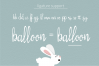 Silly Rabbit Script Font example image 2