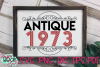 Antique 1950 - 1989 - An Antique Styled Cut File example image 3