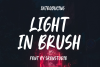 Light In Brush - Display Font example image 1