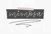 Mimosa - Handwritten Script Font example image 1