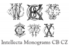 Intellecta Monograms CB CZ example image 5