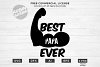 Best Papa Ever Design for T-Shirt, Hoodies, Mugs and more example image 1