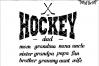 Hockey Family SVG - png - eps - dxf - ai - fcm - Hockey SVG - Silhouette - Cricut - Scan N Cut - Hockey Love SVG example image 1