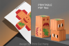 Pumpkins Treat Boxes Templates PDF files - 2 size - 2 style example image 9