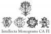 Intellecta Monograms CA FI example image 3